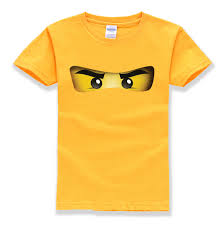 <b>2018 hot sale</b> ninjago cartoon pattern 100% cotton O neck short ...