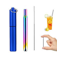 Drinks Cocktail Straight Food Grade Straw Silicone Fold <b>Candy</b> ...