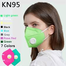 7 <b>Different Colors 10 Pcs</b> Kn95 Face Mask Reusable Mask With ...