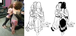 hereville drawing process using photo references drawing process using photo references