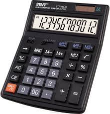 Отзывы о <b>Staff</b> Калькулятор настольный STF-444-12. 250303 ...