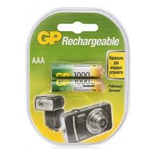 <b>Аккумулятор GP</b> LR03 <b>AAA</b> 1000 mAh (уп 2 шт) — купить в ...