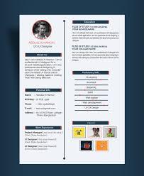 simple resume cv design template for ux ui designer psd simple resume cv design template for ux ui designer psd file