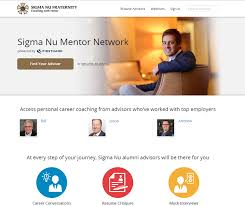 the delta latest news sigma nu mentor network launches sigma the sigma nu mentor network is a direct result of our members voices and is a tremendous opportunity for our brothers across the globe said justin