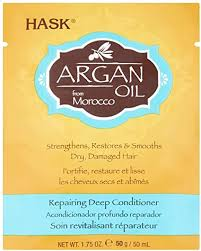 <b>Hask</b> Argan <b>Oil</b> Intense Deep Conditioning Hair Treatment, 50 g ...