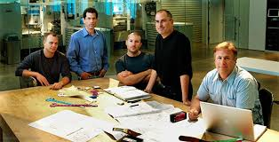 and finally heres a memorable photo of steve jobs and his closest colleagues at one of the cupertinos office spaces apple cupertino office