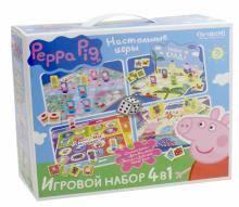 """""""Peppa Pig. Настольные игры. <b>Набор 4</b> в 1 (01601)"""" купить игры с ..."""