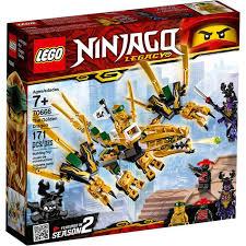 Купить <b>конструктор LEGO Ninjago Золотой</b> Дракон 70666 в ...