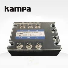 China <b>SSR</b>-80da 4-20mA Input <b>220V DC</b> Three Phase Solid State ...