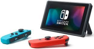 <b>Игровая</b> консоль <b>Nintendo Switch</b> ConSWT2, Red Blue Neon ...