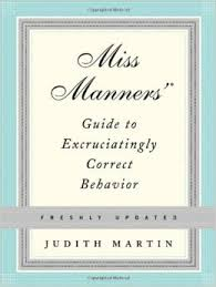Miss Manners' Guide to