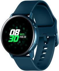 Купить <b>Умные часы Samsung Galaxy</b> Watch <b>Active</b> «Морская ...