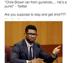 Chris Brown Says 'Our Society Is F****ed Up' In Response To ... via Relatably.com
