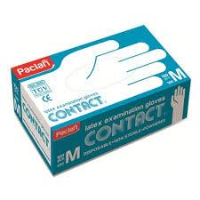 <b>Перчатки PACLAN латексные</b>, размер M, 100 шт. — купить в ...