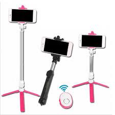 HOT ! <b>Wireless Bluetooth Remote Shutter</b> Selfie Stick Mini Tripod ...