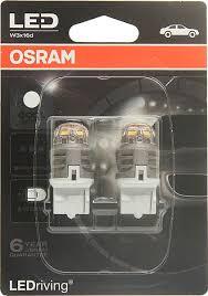 <b>Лампа</b> автомобильная <b>Osram W21W</b> (W3*16d) <b>LED</b> Premium Cool ...