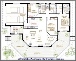 Australian House Plans  The Type for Future Home Ideas    Large Australian House Plans With Two Garage Layout