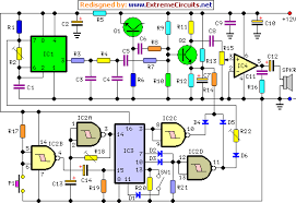 cuckoo sound generator circuit schematic circuit diagramcuckoo sound generator circuit schematic diagram
