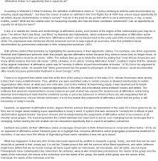 against affirmative action essayagainst affirmative action essay   plagiarism free best