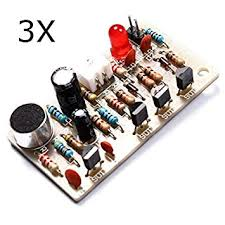 Buy RISHIL WORLD 3Pcs <b>Voice Control Clap</b> Switch Module Kit ...