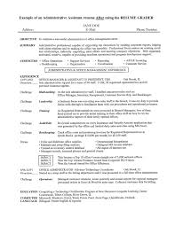resume sample office assistant  socialsci cosample objective on resume for administrative assistant free the administrative assistant resumes examples