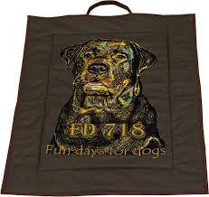 """<b>Лежак</b> """"<b>Собака</b> Бамка"""", цвет: темно-коричневый, 60 x 80 см ..."""