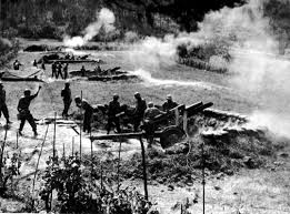 Image result for us ww2 artillery fire