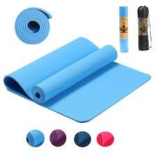 <b>183*61*0.6cm TPE Yoga</b> Mat <b>Non Slip</b> Elastic Carpet Gymnastic ...