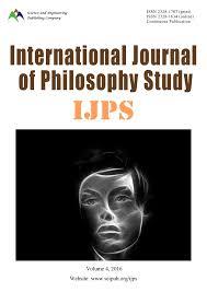 international journal of philosophy study