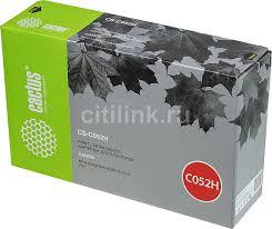 Купить <b>Картридж CACTUS CS</b>-<b>C052H</b>, черный в интернет ...