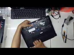 Tutorial Bongkar Laptop <b>Lenovo Ideapad S300</b> - YouTube