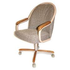 casual dining chairs with casters: casual dining cushion swivel and tilt rolling caster chair