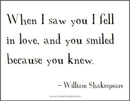 when-i-saw-you-i-fell-in-love-william-shakespeare-printable-quote ...
