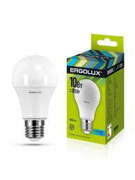 Набор из 10 <b>светодиодных</b> лампочек <b>LED 10W</b> 4500К <b>E27</b> ...