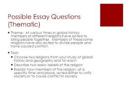 global history and geography thematic essay topics   essayglobal history regents thematic essay human rights violations