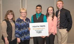 high school juniors win cooperative leadership trips tcec washington d c leadership trip winners judges