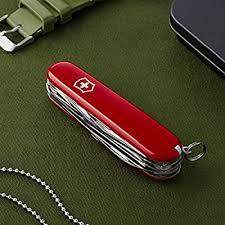 <b>Victorinox Swiss Army</b> 53931 Fieldmaster Pocket Knife, Red ...