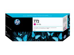 HP <b>772</b> Yellow Ink Cartridge (300 ml) (<b>HP Designjet</b> Z5200/Z5400 ...