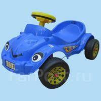Педальная <b>машина Pilsan</b> Happy Herby. Синяя - Детский ...