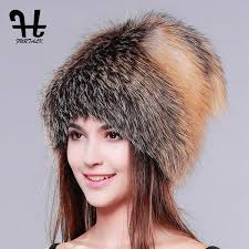 <b>FURTALK Women</b> Winter Fur Hat Genuine Fur Hats <b>Knitted</b> Silver ...