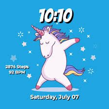 <b>Dabbing Unicorn</b> (animated) • Facer: the world's largest watch face ...