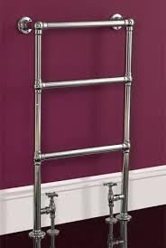 traditional heated towel rail