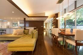 modern wooden mid century floor plans that has cream modern sofas can add the beauty inside interior design add midcentury modern style