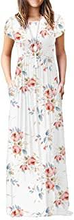 Best Short White Dress With Blue <b>Flowers</b> of 2020 - Top Rated ...