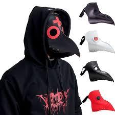 <b>Cosplay Steampunk Plague</b> Doctor Mask Bird Beak <b>Halloween</b> Prop ...