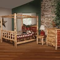 cedar log furniture bedroom set