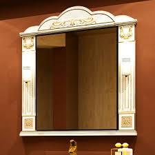 <b>Зеркало Misty Барокко</b> 100 бежевое, патина купить по низкой ...
