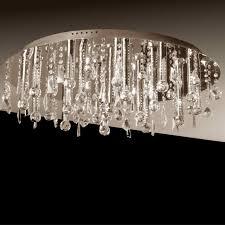 brizzo lighting stores  miraggio modern crystal flush mount