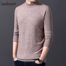 <b>2019 New Fashion Brand</b> Sweater For Mens Pullovers Half ...