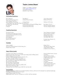 how to make a dance resume format create a resume how to make a dance resume format 17 ways to make your resume fit on one
